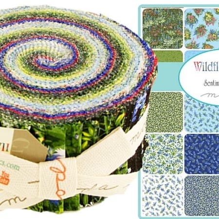 Wildflowers VII Moda Jelly Roll-0