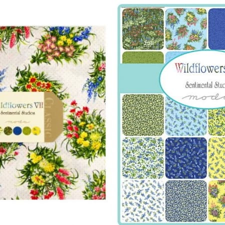 Wildflowers VII Moda Layer Cakes-0