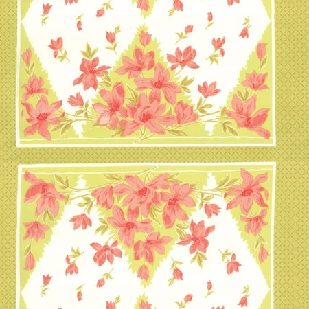Aloha Girl Kiwi Fabric Panel-0
