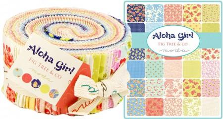 Aloha Girl Moda Jelly Roll-0