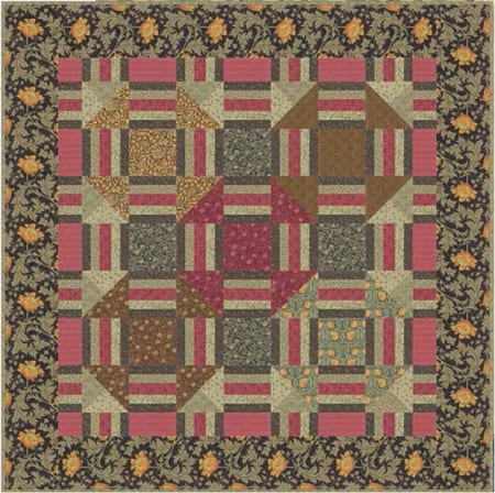 Best of Morris Quilt Pattern-0
