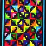 Fountain Blooms Quilt Kit - Blue-0