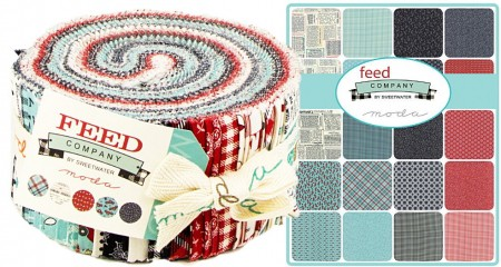 Feed Company Moda Jelly Roll-0
