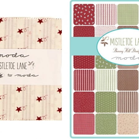 "Mistletoe Lane 5"" Charm Pack-0"