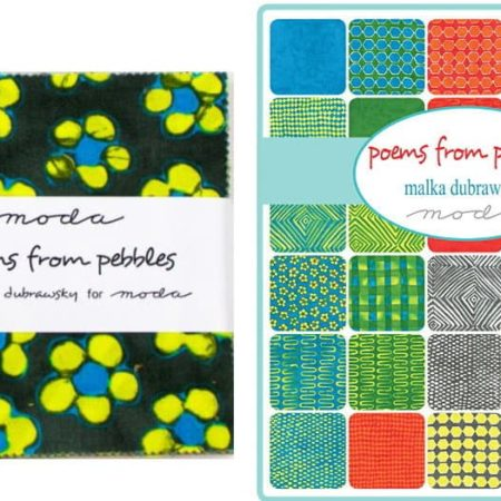 "Poems from Pebbles 5"" Charm Pack-0"