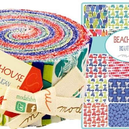 Beach House Moda Jelly Roll-0