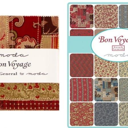"""Bon Voyage 5"""" Charm Pack-0"""