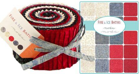Fire & Ice Batiks Moda Jelly Roll-0