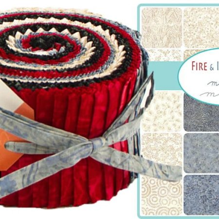Fire & Ice Batiks Moda Jelly Roll-0