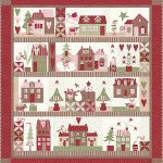 Mistletoe Lane Block of the Month Quilt Kit-0
