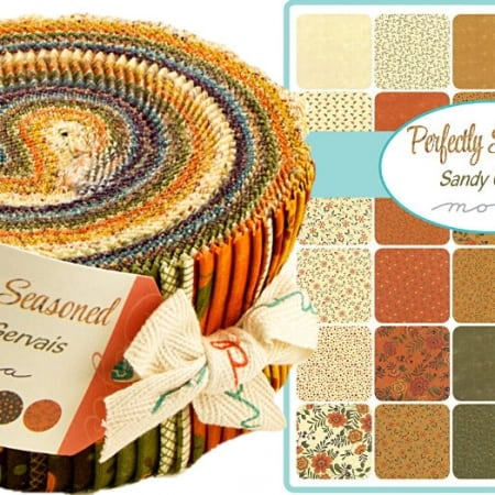 Perfectly Seasoned Moda Jelly Roll-0