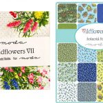 "Wildflowers VII 5"" Charm Pack-0"