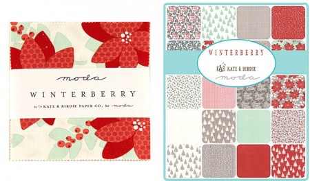 """Winterberry 5"""" Charm Pack-0"""