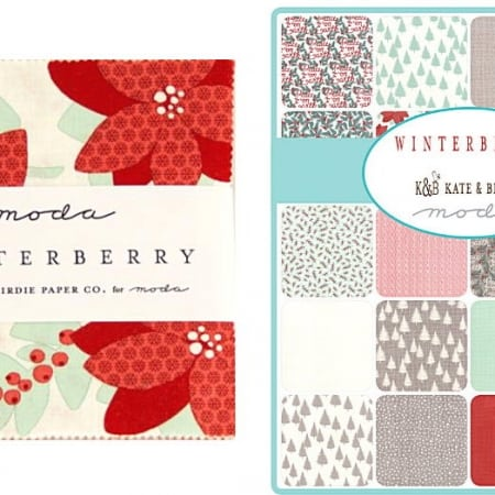 "Winterberry 5"" Charm Pack-0"