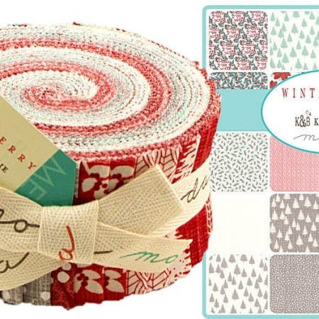 Winterberry Moda Jelly Roll-0