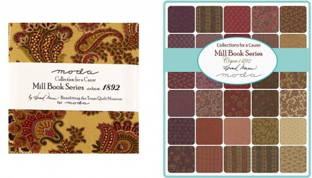 "Collection Mill Book circa 1892 5"" Charm Pack-0"