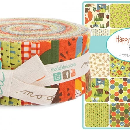Happy Sunshine Moda Jelly Roll-0