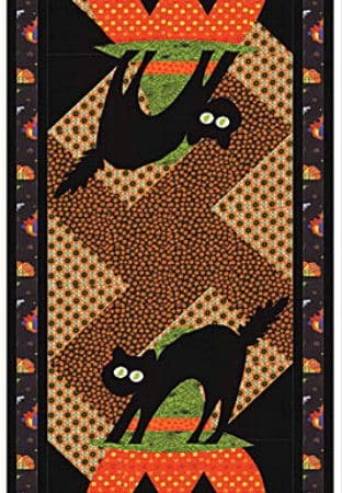 Midnight Masquerade Table Runner Quilt Kit-0