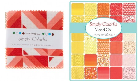 "Simply Colorful 2.5"" Charm Pack-0"