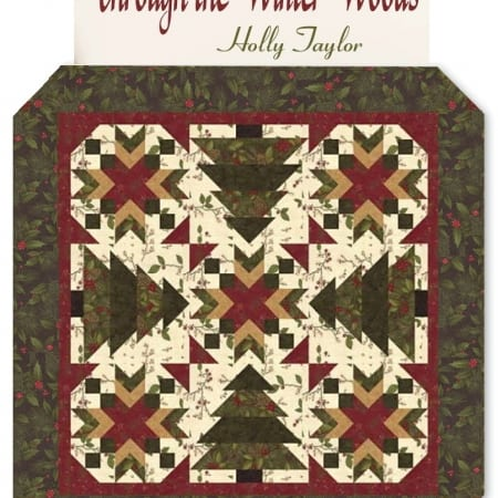Through The Winter Woods Quilt Kit-0
