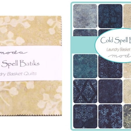 "Cold Spell Batiks 5"" Charm Pack-0"