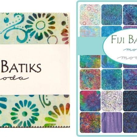 "Fiji Batiks 5"" Charm Pack-0"