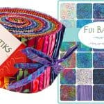 Fiji Batiks Moda Jelly Roll-0
