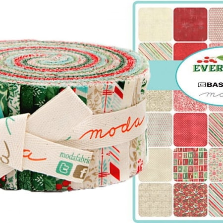 Evergreen Moda Jelly Roll-0