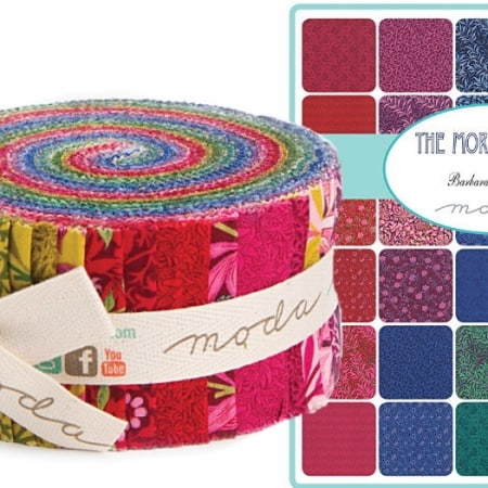 The Morris Jewels Moda Jelly Roll-0