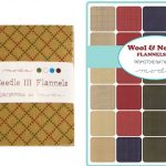 "Wool Needle Flannels III 5"" Charm Pack-0"