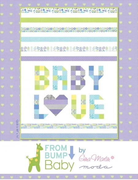 From Bump to Baby Quilt Kit-0