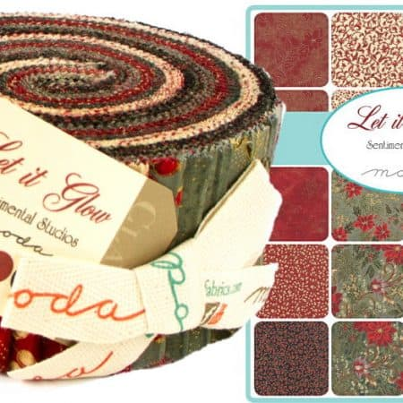 Let It Glow Moda Jelly Roll-0