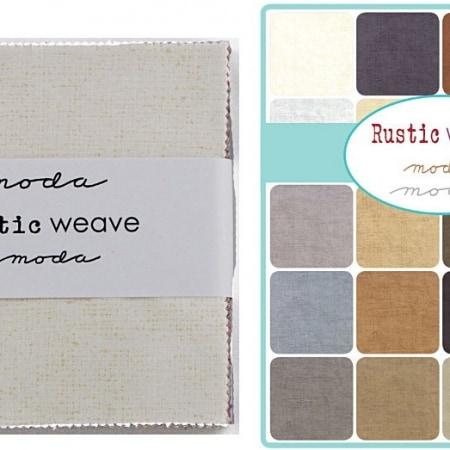 "Rustic Weave 5"" Charm Pack-0"