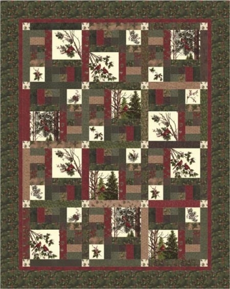 Winters Song Quilt Kit-0