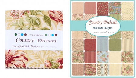 """Country Orchard 5"""" Charm Pack-0"""