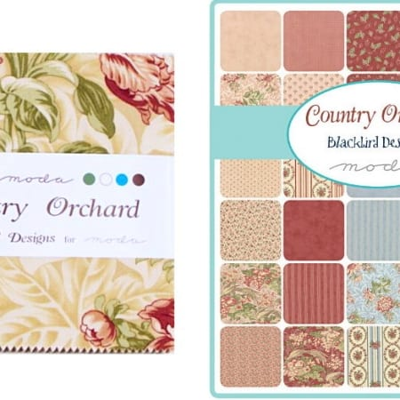 "Country Orchard 5"" Charm Pack-0"