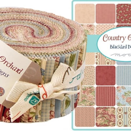 Country Orchard Moda Jelly Roll-0
