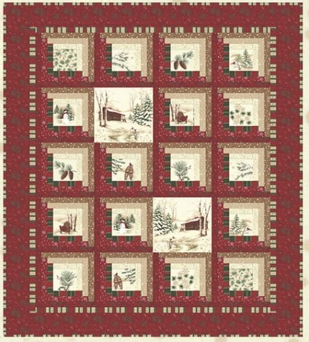 Holiday in the Cabin Pattern-0