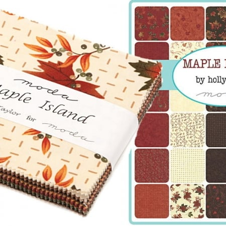 "Maple Island 5"" Charm Pack-0"