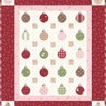 Mistletoe Lane Quilt Kit + Aurifil Thread Set-0
