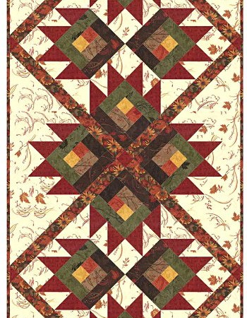 Maple Island Table Runner Quilt Kit-0
