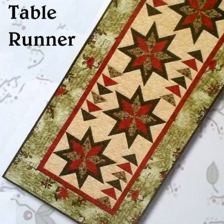 Winterlude Table Runner Quilt Kit + Book-0