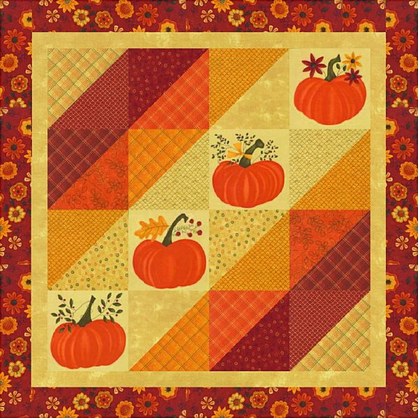 FALL BEAUTY Table Topper / Wallhanging Quilt KIT-0