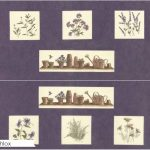 The Potting Shed Fabric Blocks - Phlox-0