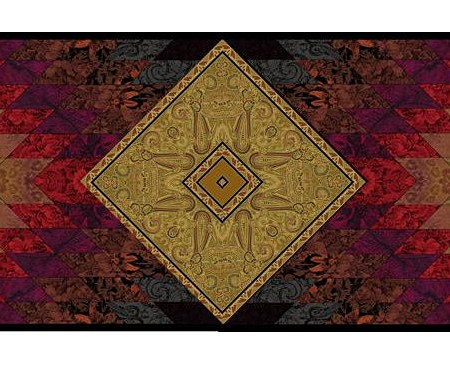 DELHI Table Runner Quilt KIT-0