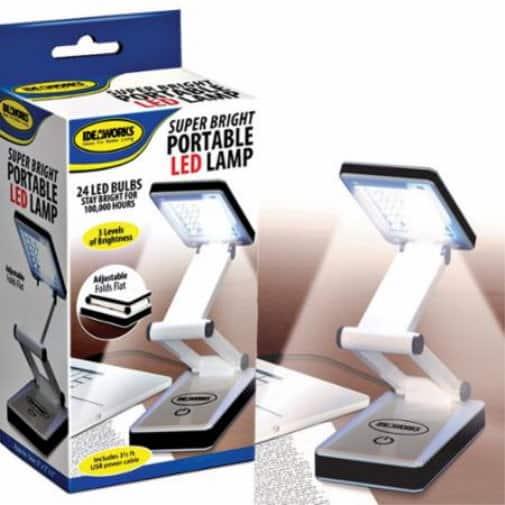 Super Bright Portable LED Lamp-0