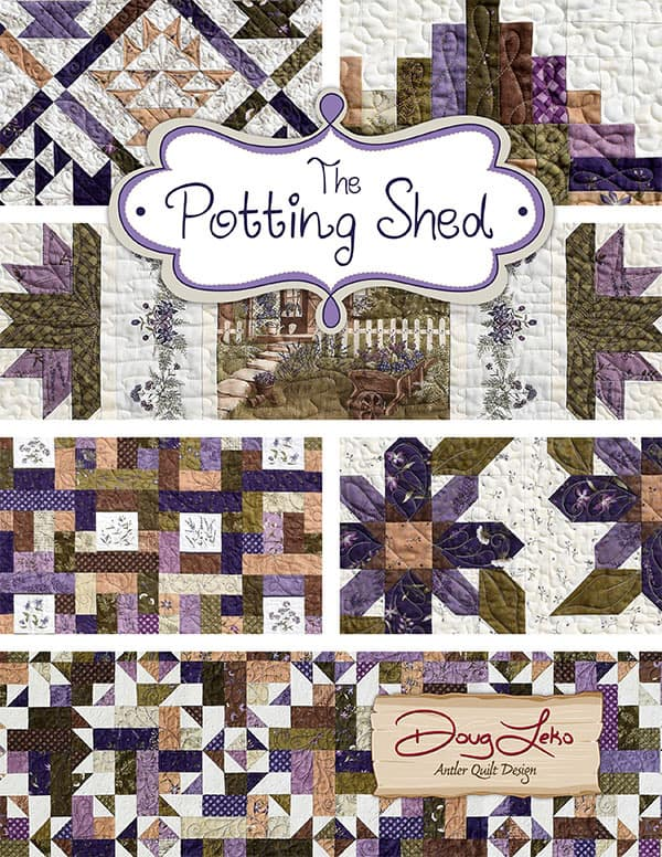 MODA THE POTTING SHED FERN HOLLY TAYLOR 100/% COTTON FABRIC 6621-13