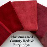 Flannel Reds & Burgundys FQ Bundle + BONUS: 2 Quilt Patterns-0