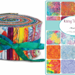 Rising Tide Batiks Moda Jelly Roll-0