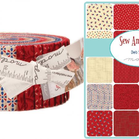Sew American! Moda Jelly Roll-0